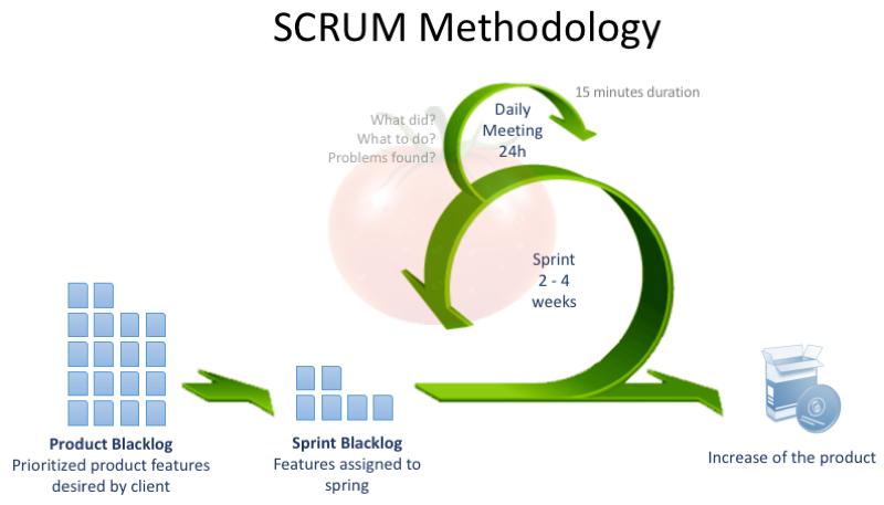 scrum მეთოდოლოგია